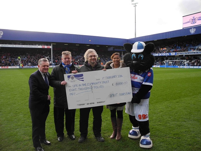 Hoops Fund Cheque Presentation
